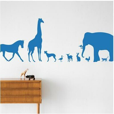 ferm LIVING Animal Farm Kids Wall Sticker