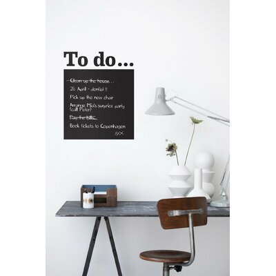 ferm LIVING To Do WallSticker