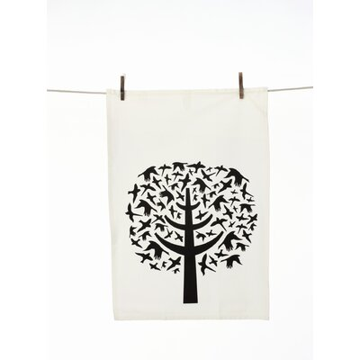 ferm LIVING Bird Leaves Tea Towel