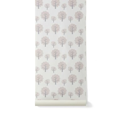 ferm LIVING Dotty Wallpaper in Rose