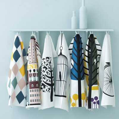 ferm LIVING Apple Kitchen Tea Towel