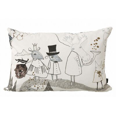 ferm LIVING Mountain Friends Organic Cotton Cushion