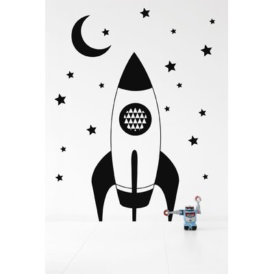 ferm LIVING Rocket Wall Decal