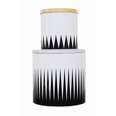 ferm LIVING Spire Tin Boxes (Set of 2)