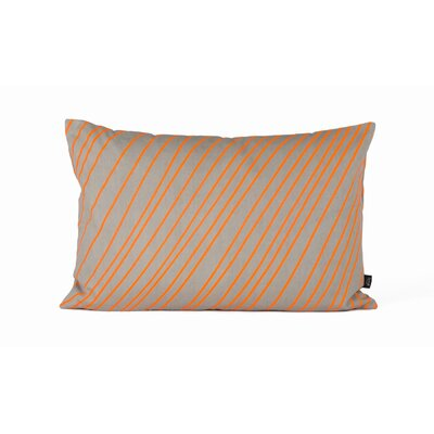 ferm LIVING Striped Cotton Accent Pillow