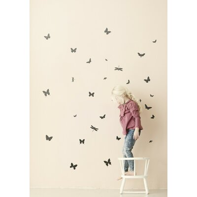 ferm LIVING Mini Butterflies Wall Stickers