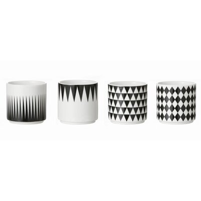 ferm LIVING Geometry Espresso Cup (Set of 4)