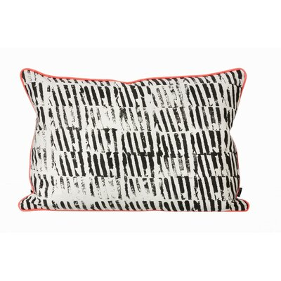 Worn Stripe Organic Cotton Cushion