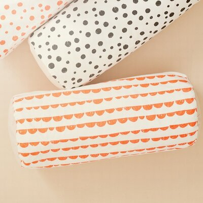 Half Moon Cotton Cylinder Cushion