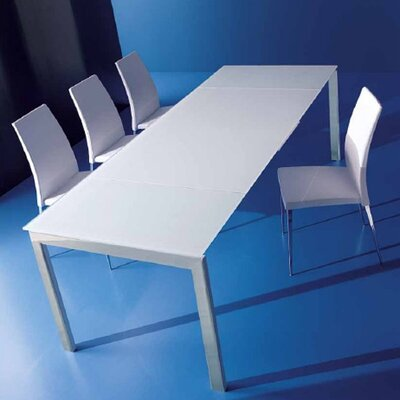 Bontempi Casa Keyo 3 Piece Dual Dining Table Set with Linda Chairs