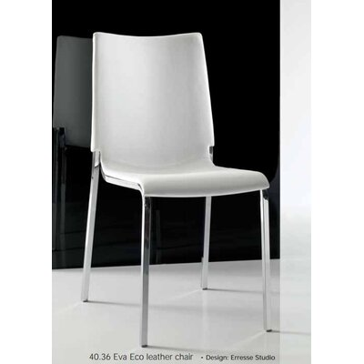 Bontempi Casa Eva Eco-Leather Chair