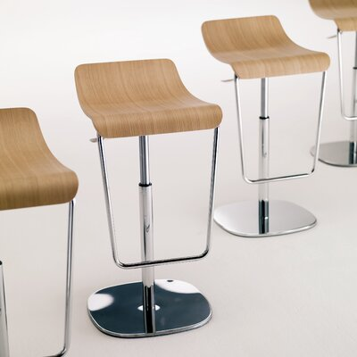 Bontempi Casa Gas Adjustable Swivel Barstool