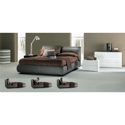 Bontempi Casa Malou Queen Platform Storage Bed
