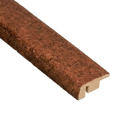"Home Legend 0.5"" x 1.44"" Lisbon Carpet Reducer Molding in Mocha"