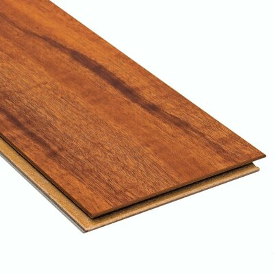 Home Legend High Gloss 10mm Click Lock Jatoba Laminate with Underlayment