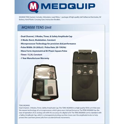 MedQuip TN3000 Tens Unit