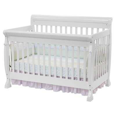 DaVinci Kalani 4-in-1 Convertible Crib with Toddler Rail in Espresso