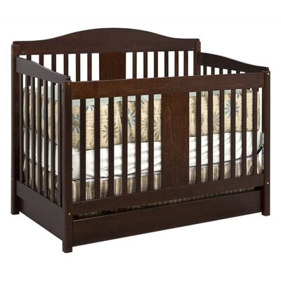 DaVinci Richmond Three Piece Convertible Crib Nursery Set with Toddler Rail in Espresso