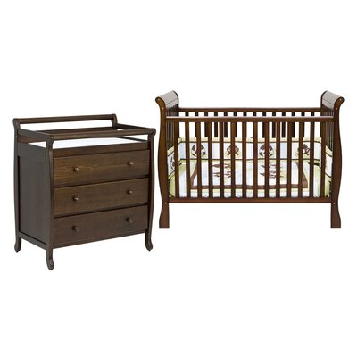 Jamie 4-in-1 Convertible Crib Set