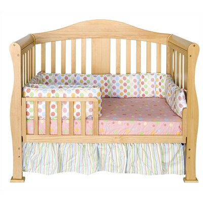 DaVinci Parker 4-in-1 Convertible Crib with Toddler Rail in Natural