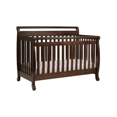 Emily 4-in-1 Convertible Crib with Toddler Bed Conversion Kit
