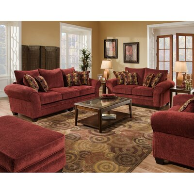 American Furniture Clayton Chenille Sofa