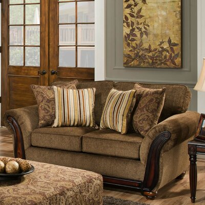 Cornell Chestnut Loveseat