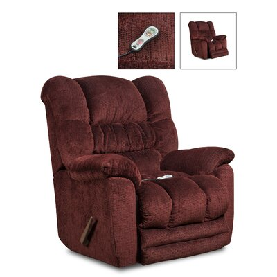 Recliners wayfair recliner chairs in leather and more for Catnapper teddy bear chaise recliner