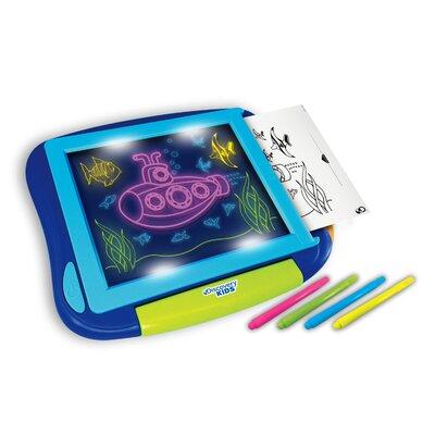 Discovery Kids Neon Drawing Board #2: NKOK Discovery Kids Neon Drawing Board