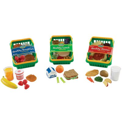 Learning Resources Healthy Foods Play 55 Piece Set