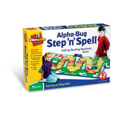 Learning Resources Alphabug Step 'n' Spell