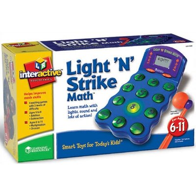 Learning Resources Light 'N' Strike Math™ Game