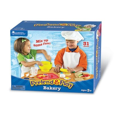 Learning Resources Pretend and Play Bakery Set