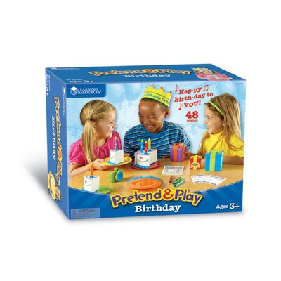 Learning Resources Pretend and Play Birthday Set