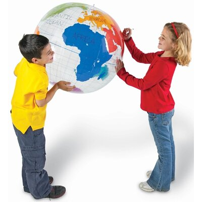Learning Resources Labeling Globe