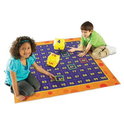 Hip Hoppin' Hundred Mat 78 Piece Set