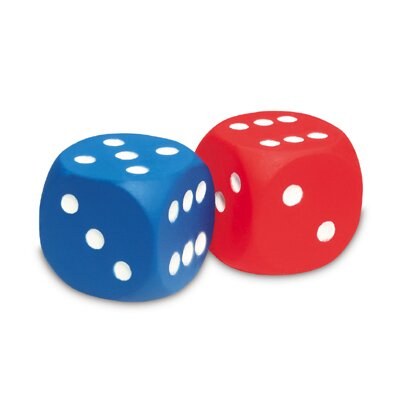 Learning Resources Foam Dice Dot