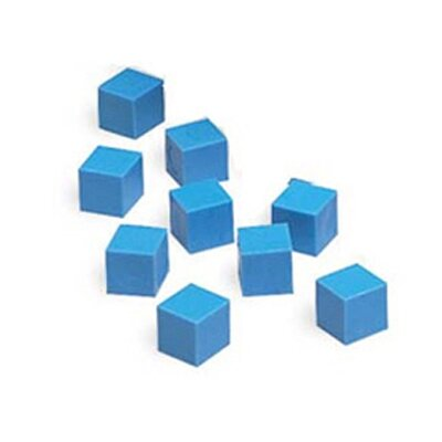 Learning Resources Base Ten Units Plastic Blue (Set of 100)