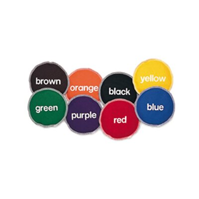 Learning Resources Bean Bags Color 8/pk