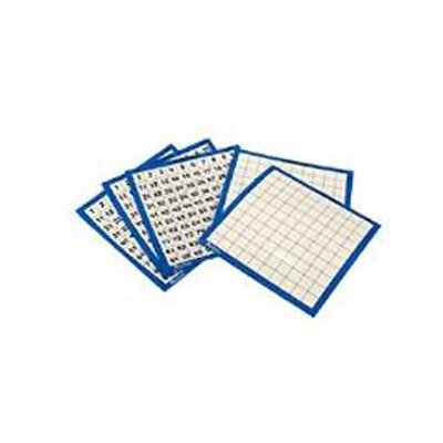 Learning Resources Laminated Hundreds Cards 10/pk