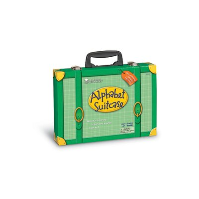 Learning Resources Alphabet Suitcase