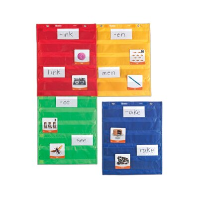Learning Resources Magnetic Pocket Chart Square (Set of 4)