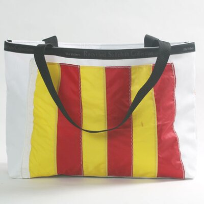 Ella Vickers Nautical Flag Tote Bag