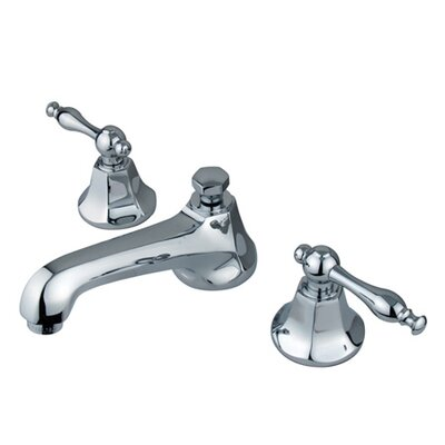 Elements of Design Metropolitan Widespread Bathroom Faucet with Double Lever Handles