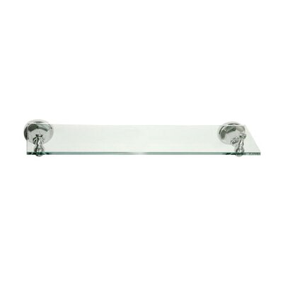 Elements of Design Metropolitan New York Glass Shelf