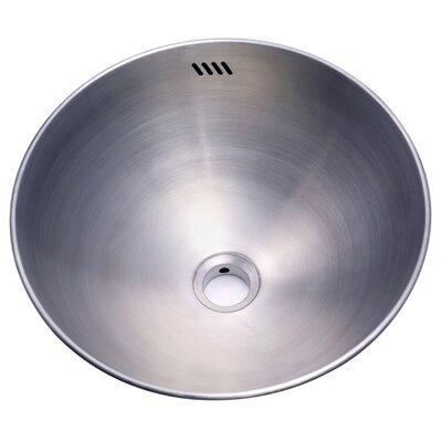 Beverly Hills Single Bowl Vessel Sink - ER16167BN