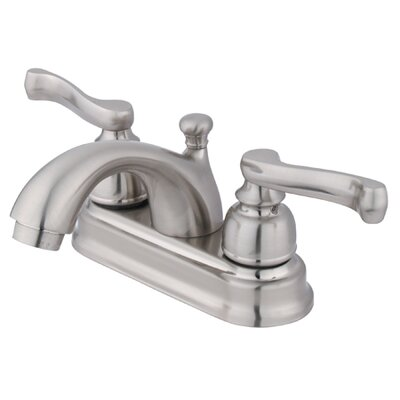 Royale Centerset Bathroom Faucet with Double Lever Handles - EB560
