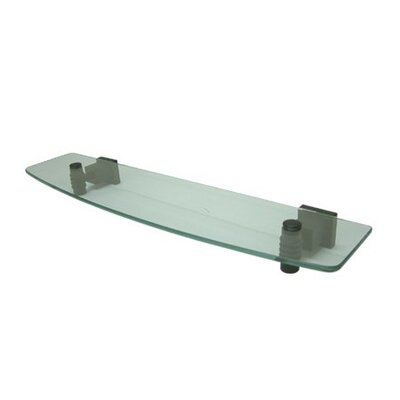 Elements of Design Fortress Glass Shelf