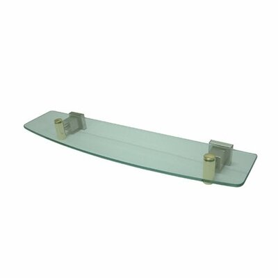Elements of Design Claremont Glass Shelf