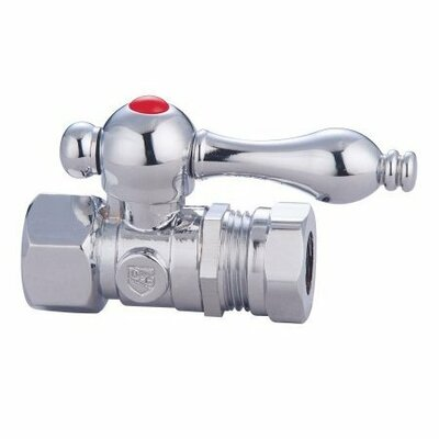Decorative Quarter Turn Valve with Lever Handle - ECC4415